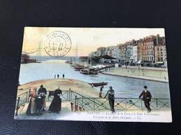 147 - NANTES Le Quai De La Fosse Et Le Pont Transbordeur. Vue Prise De La Petite Hollande - 1905 - Nantes