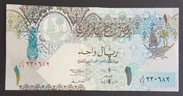 RS - Qatar 1 Riyal Banknote 2008 #230682v A-UNC - Nigeria