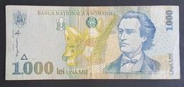 RS - Romania 1000 Lei Banknote 1998 #003B6275483 P106 - Roumanie