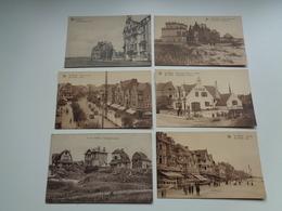 Beau Lot De 20 Cartes Postales De Belgique  La Panne  La Côte     Mooi Lot Van 20 Postkaarten Van België De Panne - Cartes Postales