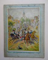 Ancienne Couverture De Cahier  - LES CUIRASSIERS DE REICHSHOFFEN - Protège-cahiers
