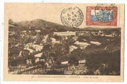 NOUVELLE CALEDONIE 65C DAGUIN NOUMEA 1938 CARTE + DAGUIN AU DOS BUVEZ LE CAFE - Briefe U. Dokumente