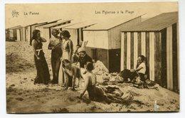 CPA - Carte Postale - Belgique - La Panne - Les Pyjamas à La Plage - 1935 (I12502) - De Panne