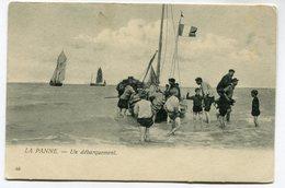 CPA - Carte Postale - Belgique - La Panne - Un Débarquement  (I12503) - De Panne