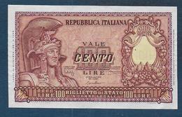 Italie - Billet De 100 Lire De 1951 - [ 2] 1946-… : República