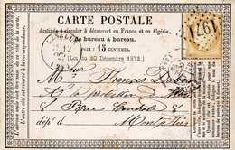 G.C.1971 LASALLE (29) Su N° 59,carte Du 12 /10/75 - Postmark Collection (Covers)