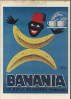 Banania, 1956 - Affiche De Hervé Moran - Bibliothèque De Forney - Morvan