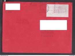 US, COVER, LABEL / REPUBLIC OF MACEDONIA ** - Luftpost