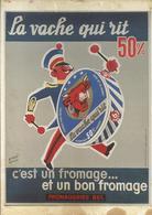 La Vache Qui Rit 50% - Affiche De Hervé Baille, 1956 - Bibliothèque De Forney - Other Illustrators