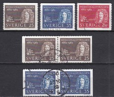 SE220 – SUEDE – SWEDEN – 1963 – THE MEDICAL BOARD – Y&T 507/509 USED 7 € - Used Stamps