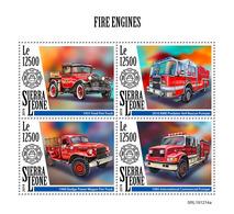 Sierra Leone  2019  Fire Engines ,fire  Truck  S202002 - Sierra Leone (1961-...)