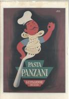 Pâtes Panzani, 1951- Affiche De Hervé Morvan - Bibliothèque De Forney - Morvan