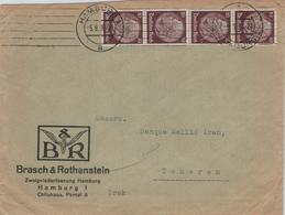 Perforé Perfin Lochung - Brasch & Rothenstein Hamburg Chile-Haus - Hindenburg - Brief Nach Teheran - Allemagne