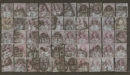 Grande-Bretagne - 1887/1900 - Victoria - YT95 - Petit Lot De 50 Timbres° Pour étude - Kilowaar (max. 999 Zegels)