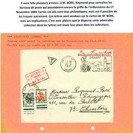 DROME ORDONNANCE / 17 NOVEMBRE 1844 / (Art 30 ET 31) ENV 1971 DIEULEFIT ET TAXE CHAMBERY SAVOIE => VOIR DESCRIPTION SUR - Postmark Collection (Covers)
