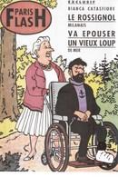 CARTE POSTALE TINTIN COUVERTURE DE PARIS FLASH (25) - Postcards