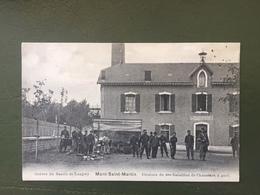 La Grève Dans Le Bassin  Minier De Longwy. MONT SAINT MARTIN- Cuisines Du 9ème Bataillon - Mont Saint Martin