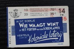 A34b(ii) 'Wie Waagt Wint' - Zeer Mooi! - Carnets 1907-1941