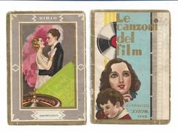 94345) CALENDARIETTO DEL 1932-LE CANZONI DEI FILM-COPERTINA STACCATA - Calendars