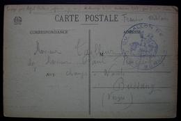 Fort Du Ballon De Servance (Vosges) Cachet Sur CPA Pour Bussang - Postmark Collection (Covers)