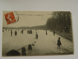 SAONE ET LOIRE-LA CLAYETTE-SUR L'ETANG -LE PATINAGE 1911-ANIMEE - Autres Communes