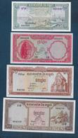 CAMBODGE -  4 Billets - Cambodia