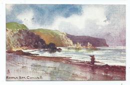 Cornwall Postcard Tuck's Oilette Artist Signed Kennack Bay Posted 1904 - Sonstige