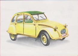 Chromo Chocolade Jacques Auto Voiture Car 1962 Nr.  Citroen 2 CV Geit PK Deux Chevaux - Jacques
