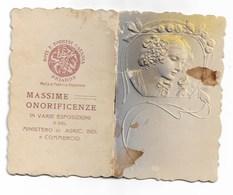 94349) CALENDARIETTO DEL 1910-DOT. E. TORRISI-CATANIA-BRIAROS - Calendriers