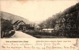 France, Stambach, Saverne, Zabern, Luftkor-Hotel Station Stambach, Old Postcard - Andere Gemeenten