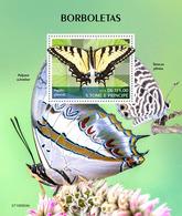 Sao Tome 2019   Fauna Butterflies S202002 - Sao Tomé Y Príncipe