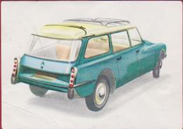 Chromo Chocolade Jacques Auto Voiture Car 1962 Nr. 10 Citroen ID 19 Break - Jacques