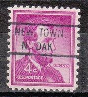 USA Precancel Vorausentwertung Preo, Locals North Dakota, New Town 821 - United States