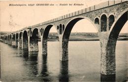 Germany, Nordrhein-Westfalen,Möhnetalsperre,Viadukt Bei Körbecke,Old Postcard - Möhnetalsperre