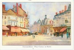 20 / 5 / 269. -  FPNTAINEBLEAU. ( 77 )  CPM. PEINTURE.  ( D' ARMAND  CASSAGNE ) - Fontainebleau