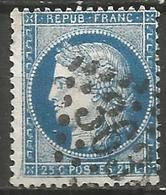 France - Napoleon III Et/ou Cérès - Oblitération Sur N°60A - GC 3638 ST-GERMAIN-EN-LAYE (Yvelines) - Marcophilie (Timbres Détachés)