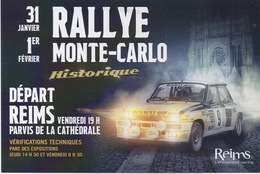 Rally Monte-Carlo Historique 2019 ? - Reims