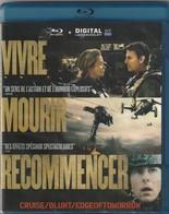 Blu Ray DVD  VIVRE MOURIR RECOMMENCER Tom Cruise - Sci-Fi, Fantasy