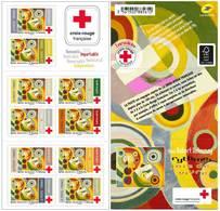 France 2020 - Croix-Rouge - Rythme, Joie De Vivre - œuvre De L'artiste Robert Delaunay ** - France