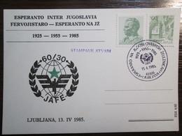 Esperanto, Ljubljana / Slovenia 1925-1955-1985 - Esperanto
