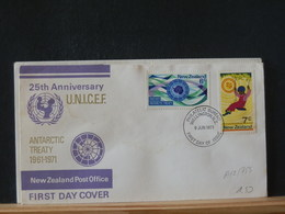 A12/755 FDC NOUVELLE ZELANDE - Tratado Antártico