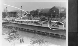 Charleroi. Passage Des Troupes Françaises Le 10 Mai 1940. Repro - Vehículos
