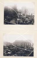 Avril 1940. Thuillies (Thuin). Réquiisitions De Chevaux Pour L'armée Belge. Repros - Vehículos