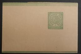 Norddeutscher Postbezirk 1868, Streifband S1 Ungebraucht - Norddeutscher Postbezirk