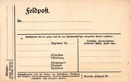 1.Weltkrieg, Original Feldpost-Karte (Vordruck), Ungebraucht - Guerre 1914-18