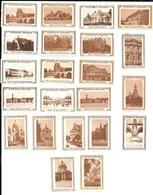 AH83 - VIGNETTES CHOCOLAT POULAIN - VUES DE PARIS - Commemorative Labels
