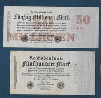 Allemagne - Lot De 10 Billets - [ 3] 1918-1933 : Weimar Republic