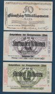 Allemagne - Lot De 3 Billets - [ 3] 1918-1933: Weimarrepubliek