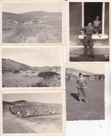 Lot De 23 Photographies Guerre Militaire Afrique Du Nord Militaire Français Génie 62 Eme C G Z - Guerre, Militaire
