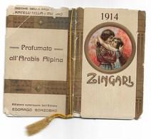 94351) CALENDARIETTO DEL 1914-ZINGARI - Tamaño Pequeño : 1901-20